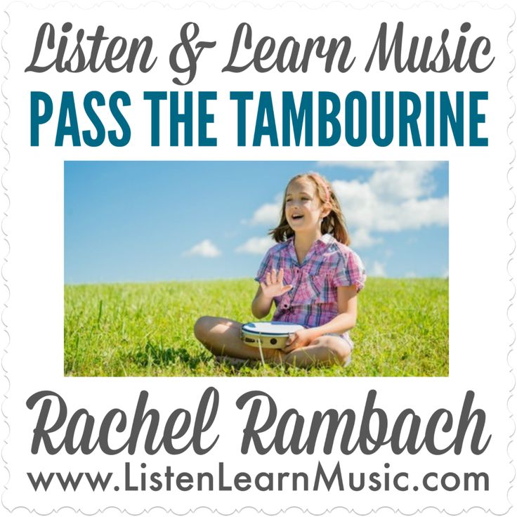 Pass The Tambourine With Images Learn Music Music Activities