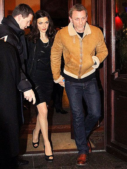 Love Rachel Weisz's polka dot tights with peep toe shoes. Perfect for a date night. ||from $9.50 @amazon http://www.amazon.com/French-Polka-Dot-Tights-Pantyhose/dp/B009E8F6O4/?ref=sr_1_3=UTF8%3D1361515126%3D8-3%3Dpolka+dot+tights or @bonanza http://www.bonanza.com/listings/French-Polka-Dot-Tights-Pantyhose/101320641