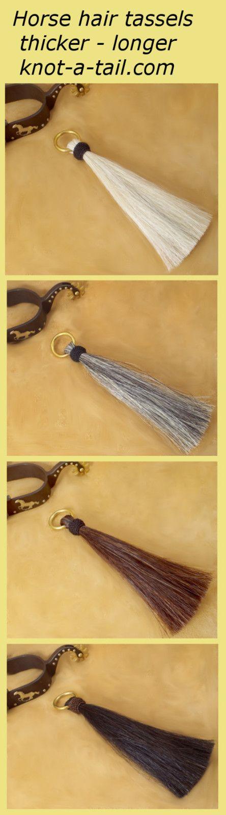 Horsehair tassel/tassel / shu fly tassel