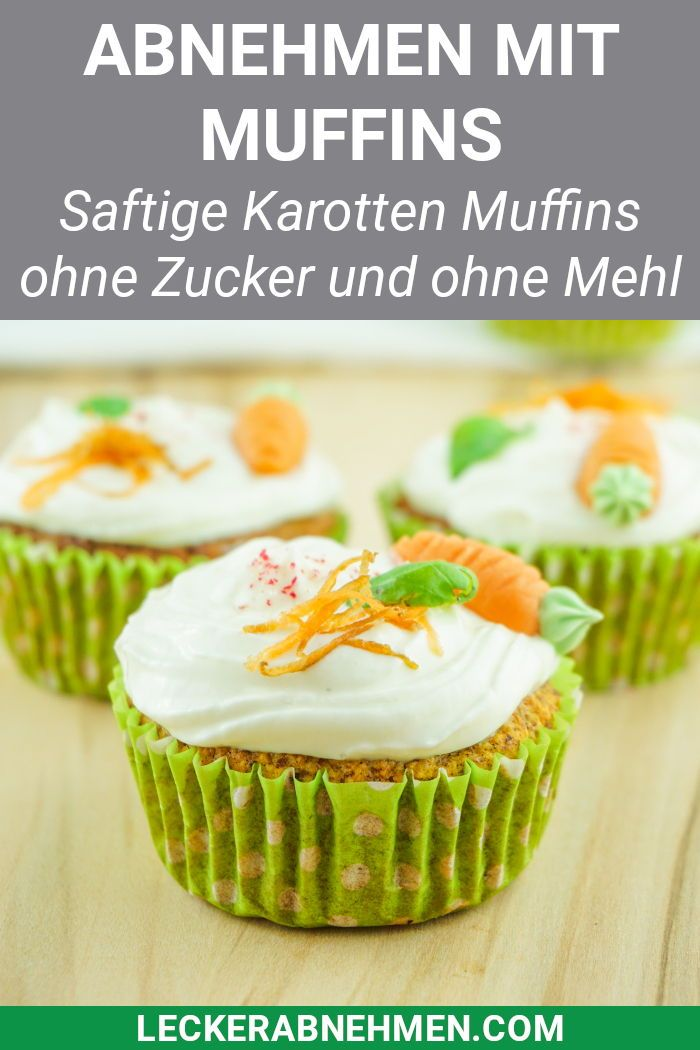 Muffins einfach zucker- und glutenfrei machen, damit sie zum Abnehmen geeignet sind.   – Zuckerfrei Backen