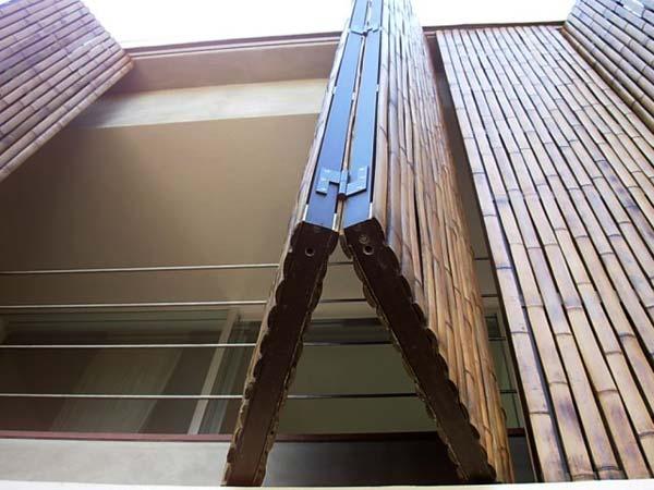 brise em bambu