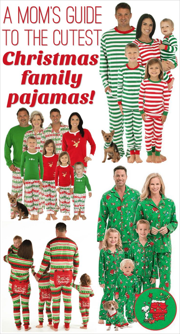 46 best family christmas pajamas images on pinterest. Black Bedroom Furniture Sets. Home Design Ideas