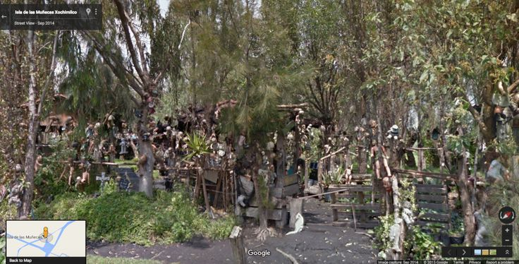 Mexico's Isla de las Muñecas Xochimilco is home to hundreds of decaying dolls, which were hung in memory of the tragic death of a young girl in Mexico.