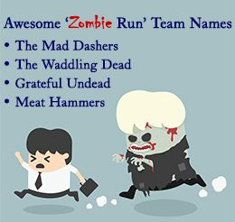 """50 Awesome and Big-league Zombie Run Team Name Ideas """"50 Awesome and Big-league Zombie Run Team Name Ideas""""  https://yoogbe.com/sports-recreation/50-awesome-and-big-league-zombie-run-team-name-ideas/"""