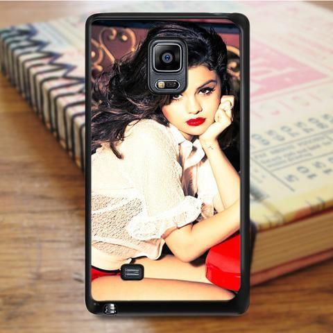 Selena Gomez Sexy Lips Red Samsung Galaxy Note 5 Case