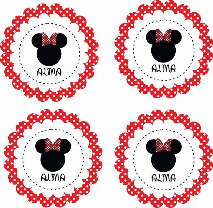 #Stikers #Minnie #Roja #Birthday #Cumple #Cumpleaños