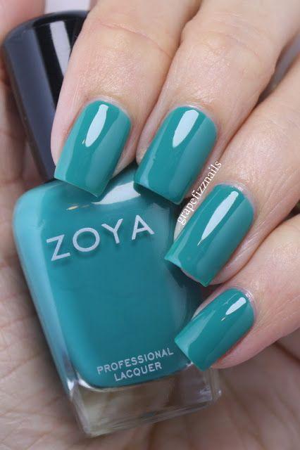 grape fizz nails: Zoya Island Fun Collection