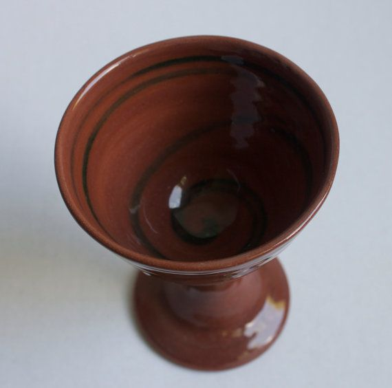 Lilian's Collection Handmade  Pottery Wine  Goblet by ChezGalip