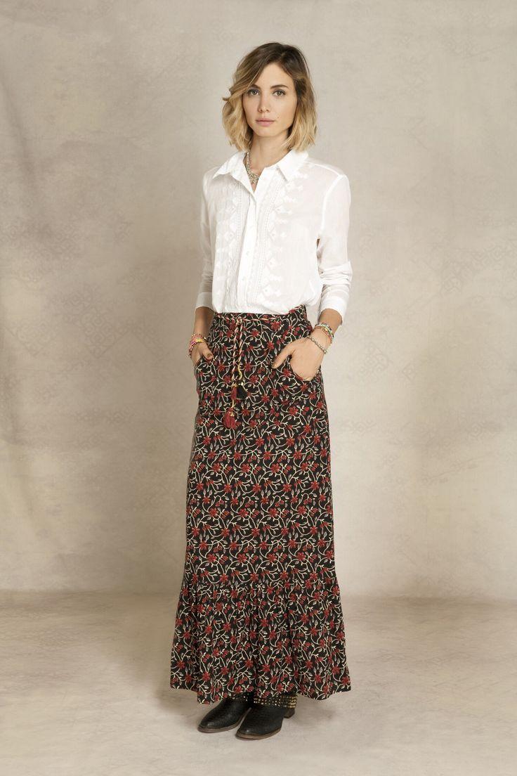 Visitá la nueva colección Invierno 16 en Rapsodia.com > Falda Ingrid Kendal
