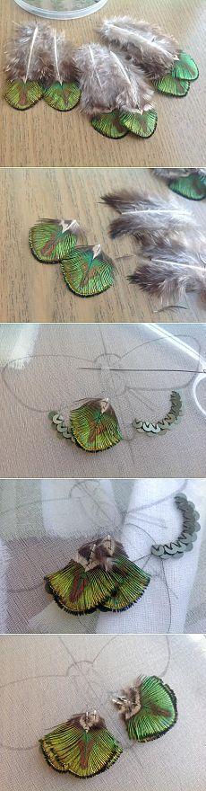 Вышиваем бисером элегантную бабочку. Часть первая - Ярмарка Мастеров - ручная работа, handmade