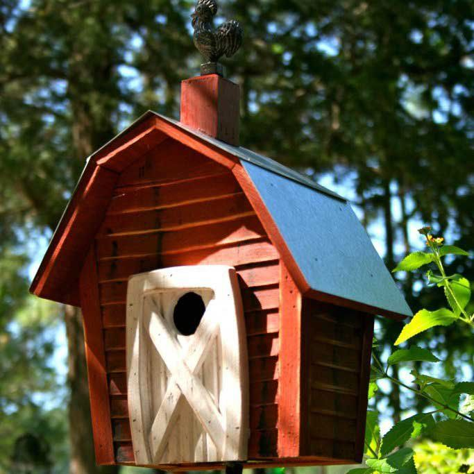 Stake Rock City Bird Houses Attract And Shelter Your Backyard Visitors Bird House Bird House Kits Unique Bird Houses