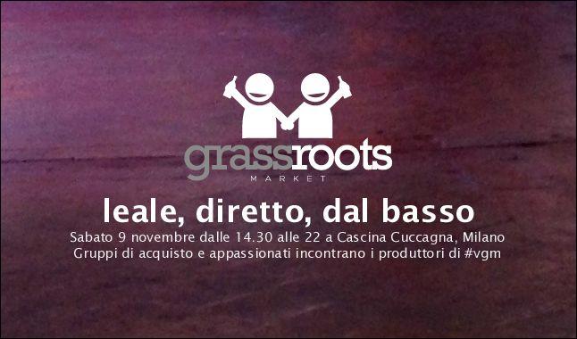 Vinix Grassroots Market a Milano, 9 novembre #vino https://www.vinix.com/myDocDetail.php?ID=7253