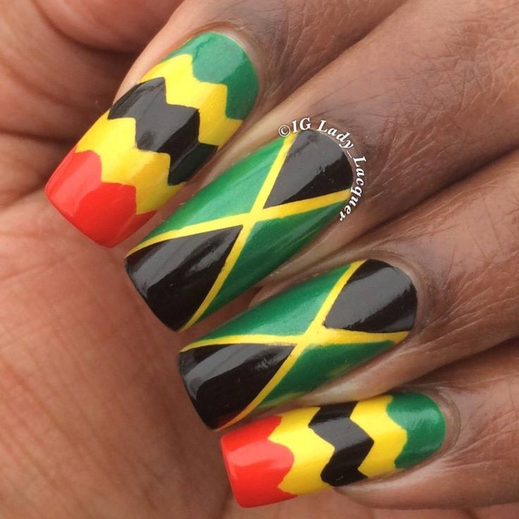 Best 25+ Jamaica Nails Ideas On Pinterest