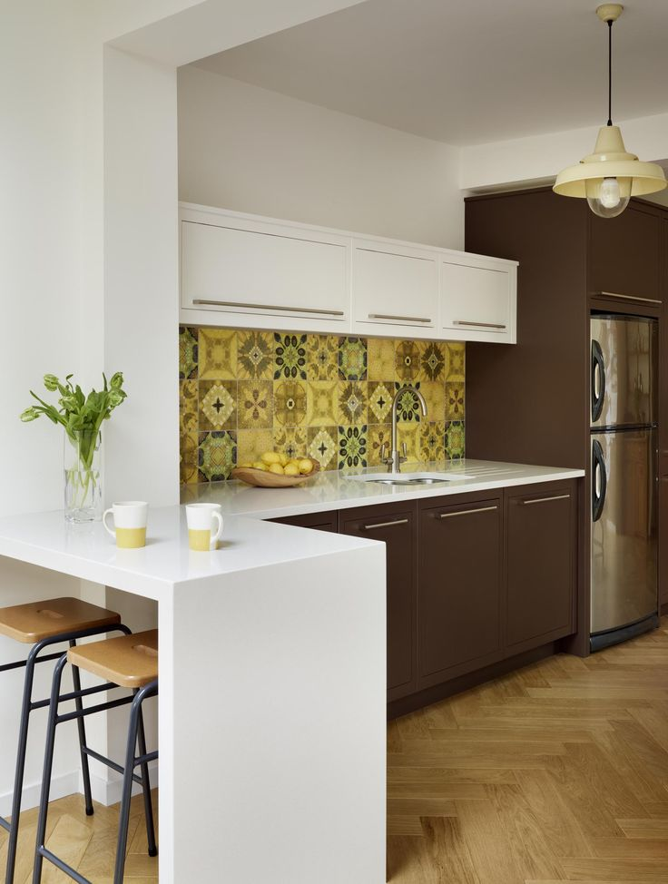 Statement Tile Splashbacks Are Making A Come Back In Contemporary Kitchen  Design. Try The British