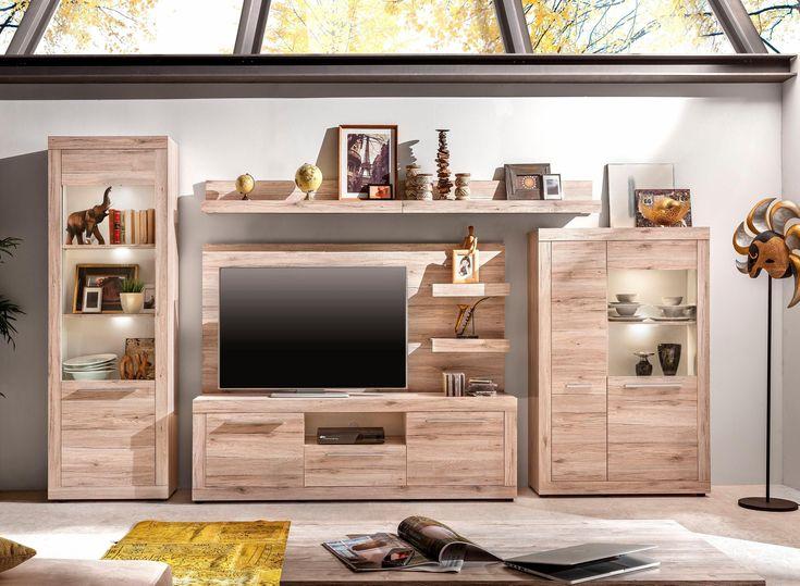 Více než 25 nejlepších nápadů na Pinterestu na téma Wohnwand Braun - wohnzimmermöbel weiß landhaus