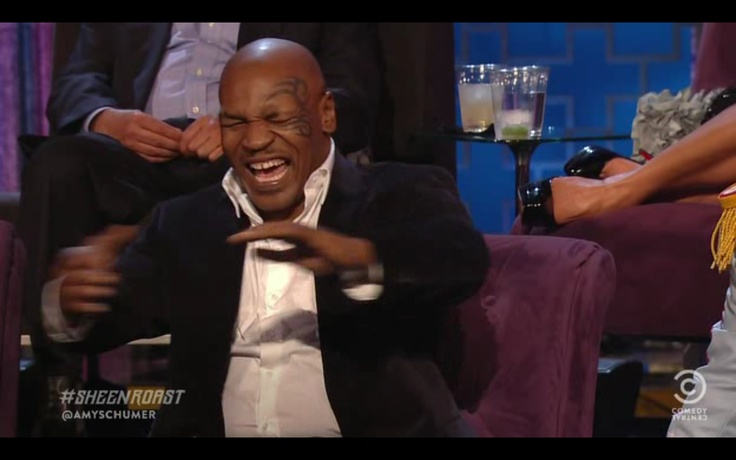 Mike Tyson on the roast of Charley Sheen.