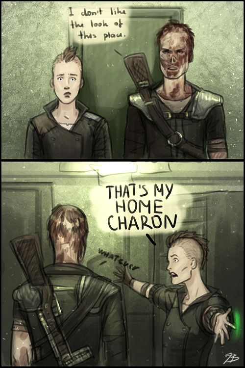Goddammit Charon!   charon fallout charon fallout 3 twitter facts