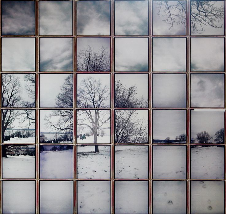 Patrick Winfield Polaroid 600 composite collage: Winter One