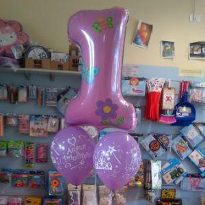 Balloon per il primo compleanno