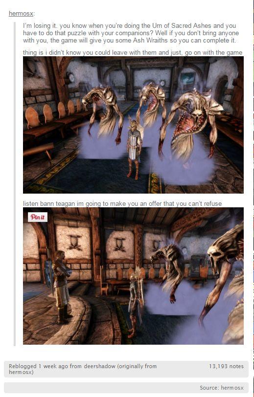 The Warden is pretty badass. Ash Wraith Posse!