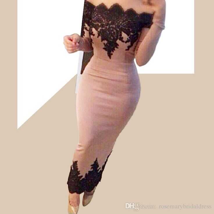 Pink Evening Dress Charming Sheath Prom Dress Lace Appliques Off The Shoulder Ankle Length Bridesmaid Dress Celebrate Dress 2016 Ze68 Long Gowns Online Maxi Evening Dress From Rosemarybridaldress, $142.72| Dhgate.Com