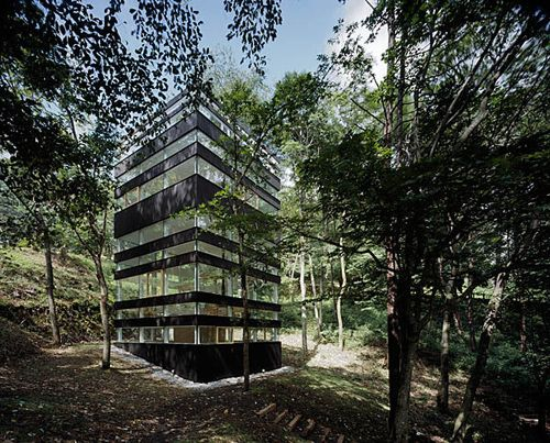 A noise in the forest: The Ring House by Takei-Nabeshima-Architects (TNA)