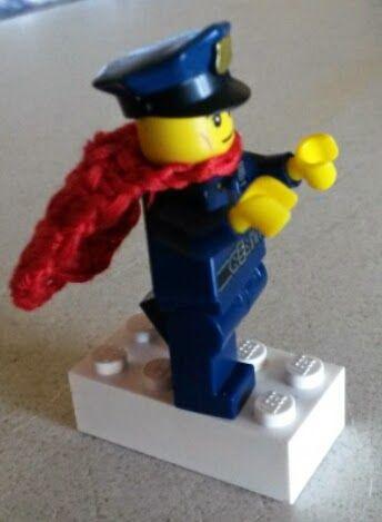Lego Man Cape, Littlest Crochet Pleasures, crochet for kids, crochet pattern