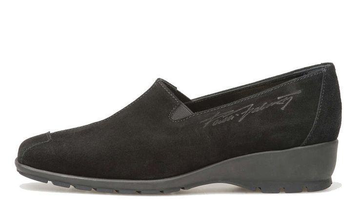 Pertti Palmroth shoe black suede -20%