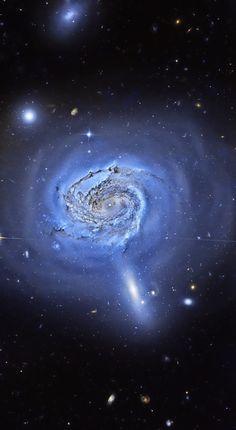 NGC 4911 Hubble Credit: Al Carreno