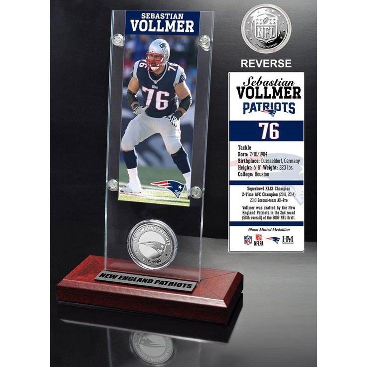 Sebastian Vollmer Ticket and Minted Coin Desktop Acrylic