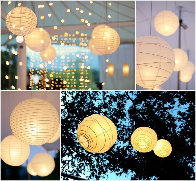 83 best wedding lanterns lights images on pinterest wedding totally beautiful and magical wedding paper lanterns who will not love this beautiful wedding decoration junglespirit Choice Image