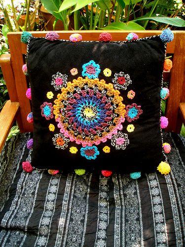 Cojin Crochet