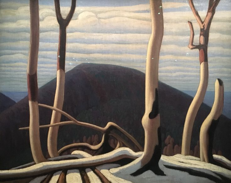 Lawren Stewart Harris, Au-dessus du lac Supérieur, vers 1922, Toronto, Art Gallery of Ontario