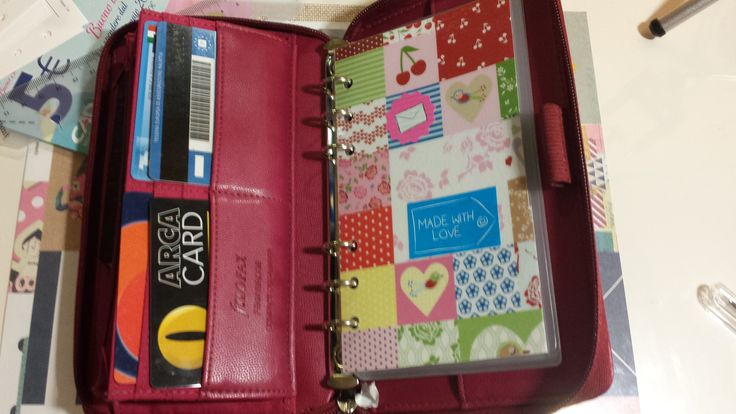 Filofax Pennybridge Raspberry di Paola Martino