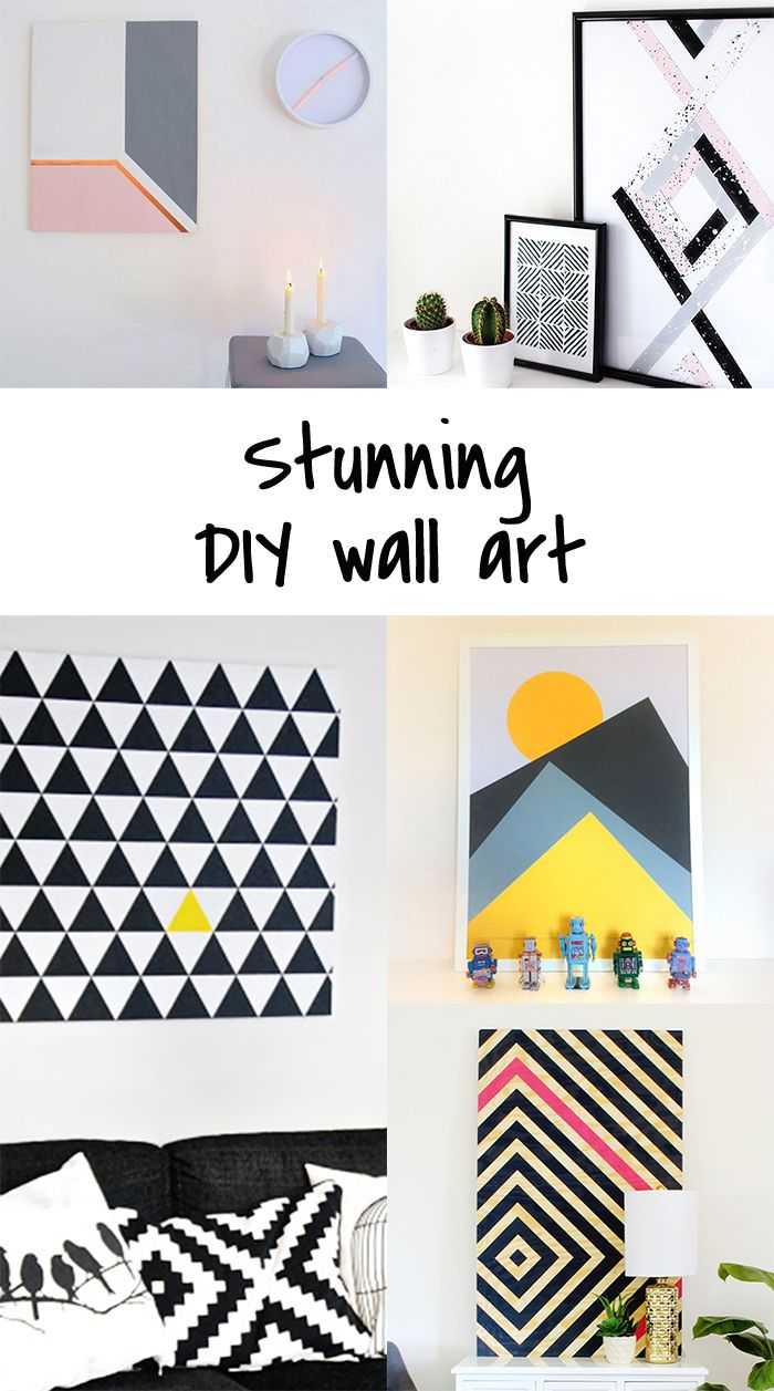 Ohoh Blog - diy and crafts: 5 DIY to try # wall art