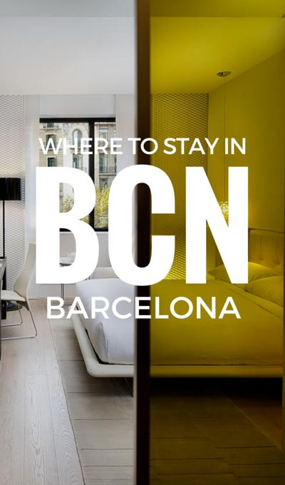 Where to stay in a Boutique hotel in Barcelona?