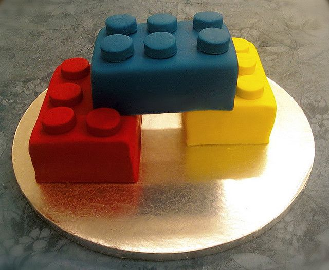 Lego Cake by The Cakerator, via Flickr