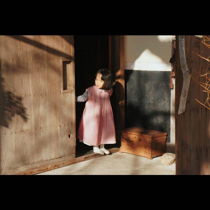 "359 Likes, 4 Comments - i a i (@taikiiai) on Instagram: ""Children's wear.  Proof of life ""seikatsu no hana""  子供にも何人か作らせていただきました。  今日は 5cm 裾あげ。  #せいかつの花 #iai"""