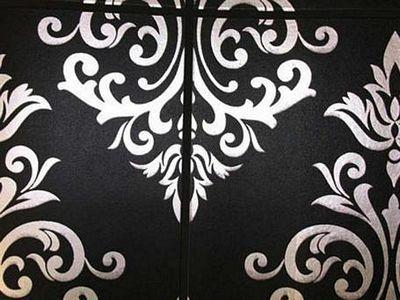 de papel para las paredes del bao