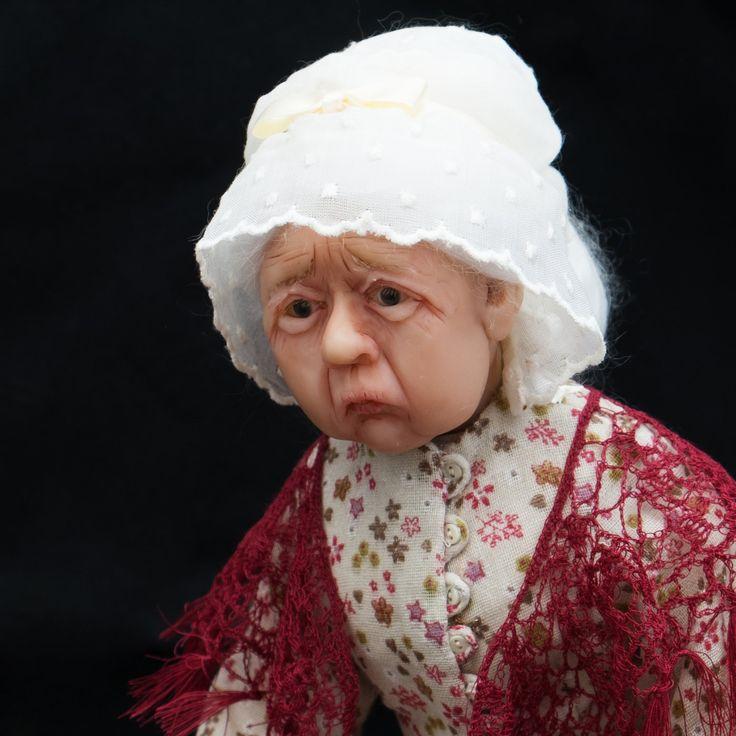 Матушка Хаббард и ее Пес станут прекрасным подарком любителям английской поэзии. by ArtDollsLL on Etsy