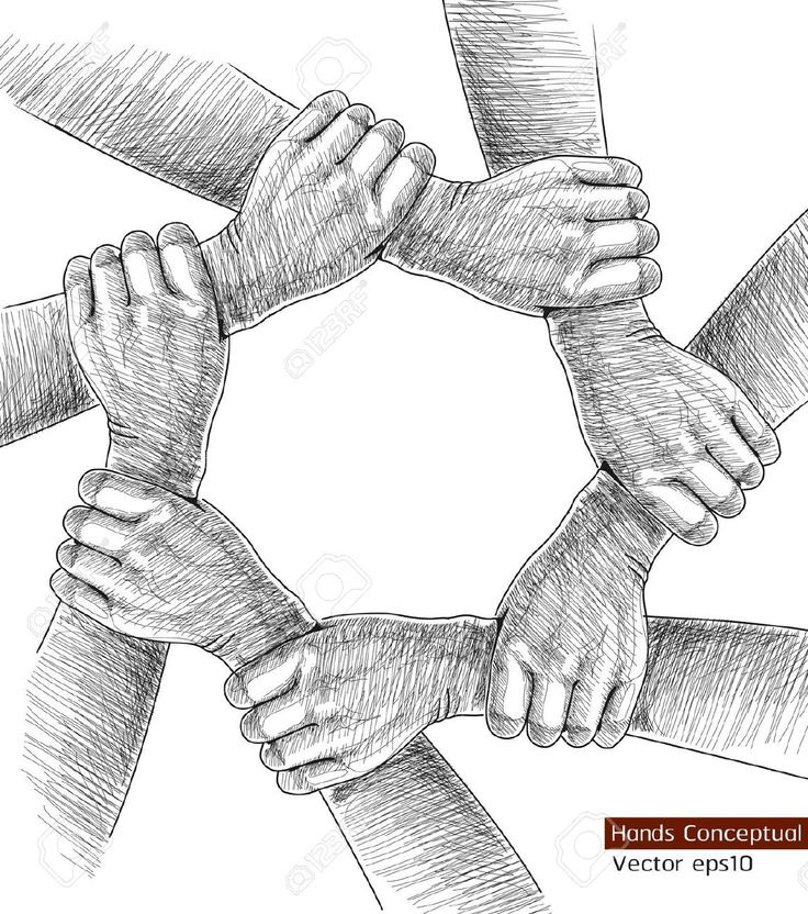unity is strength Google Search How to draw hands