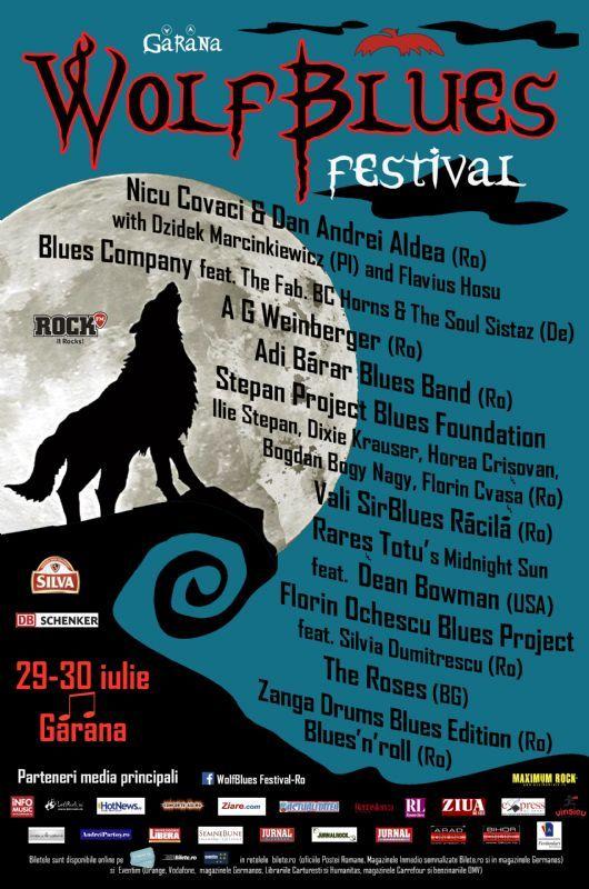 Wolf Blues Festival - 29-30 Iulie 2016