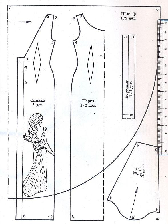 рецепты приготовления выкройки одежды для куклы барби в натуральную величину воздушные ресиверы
