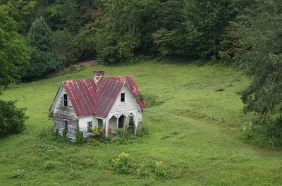My vision of Sienna's abandoned house in the forest...