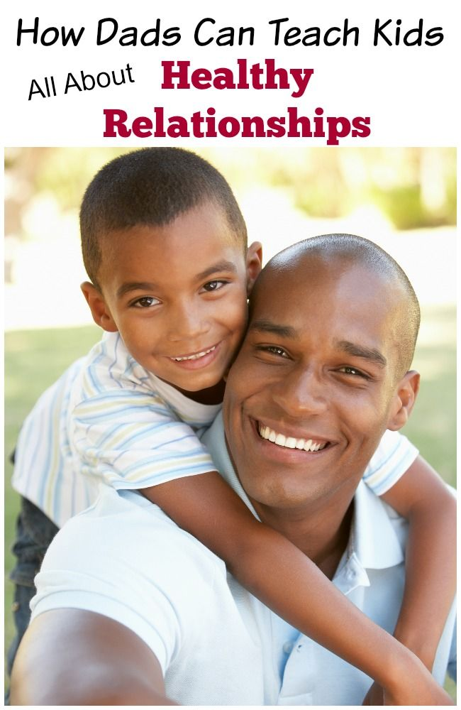 Love this! SO many great ideas for how dads can teach Sons AND daughters all about self-worth and healthy relationships