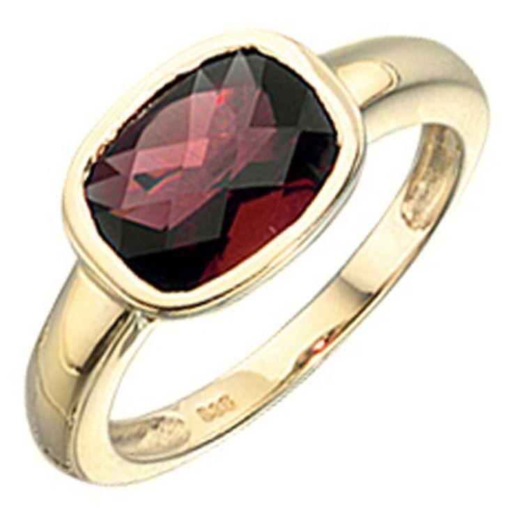 Damen Ring 585 Gold Gelbgold 1 Granat rot Goldring J32448 http://cgi.ebay.de/ws/eBayISAPI.dll?ViewItem&item=161959490310&ssPageName=STRK:MESE:IT