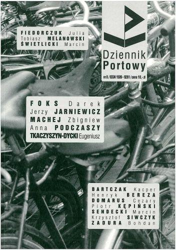 Okładka książki Dziennik portowy nr 8 - zdjęcia mojego autorstwa i na okładce, i wewnątrz pisma