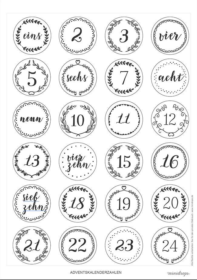 Die besten 25 Druckvorlagen Ideen auf Pinterest  Kalender