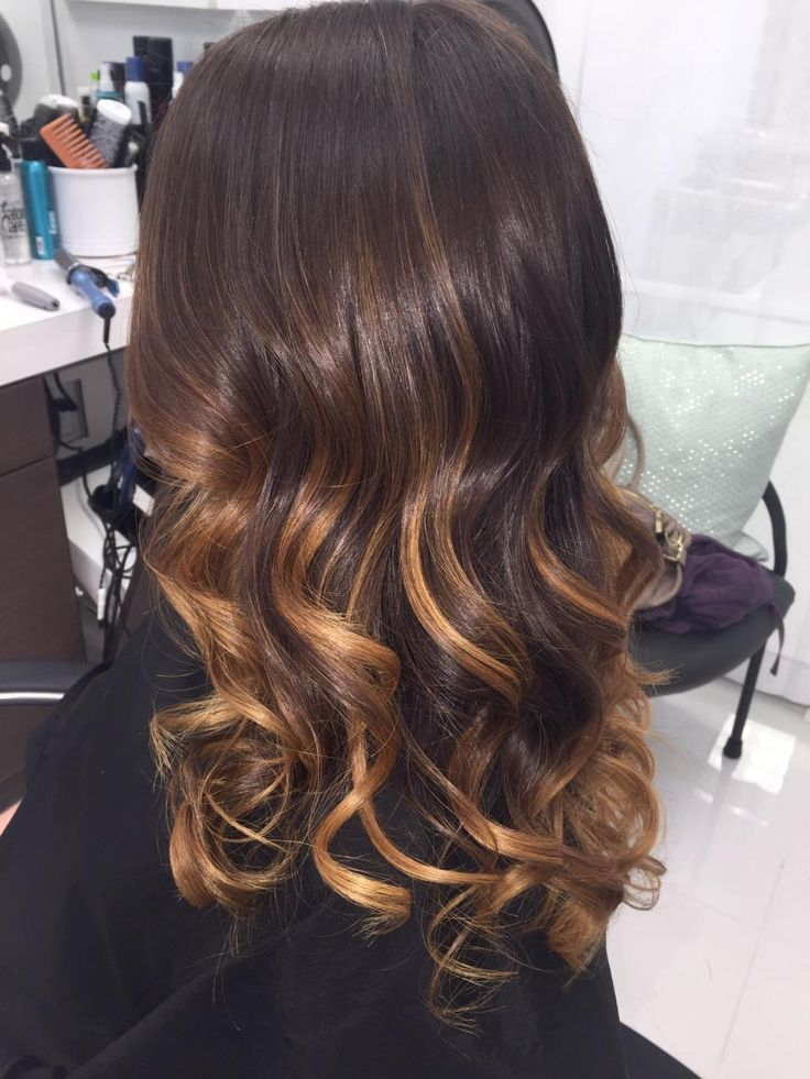 how to luscious chocolate caramel swirl balayage career. Black Bedroom Furniture Sets. Home Design Ideas