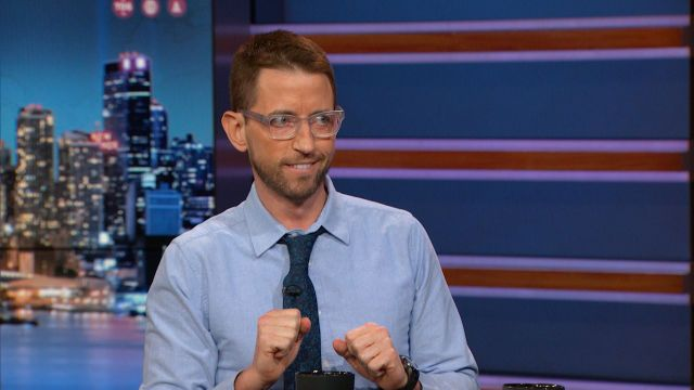 "Neal Brennan chats about presenting different personas in his one-man show ""3 Mics."""